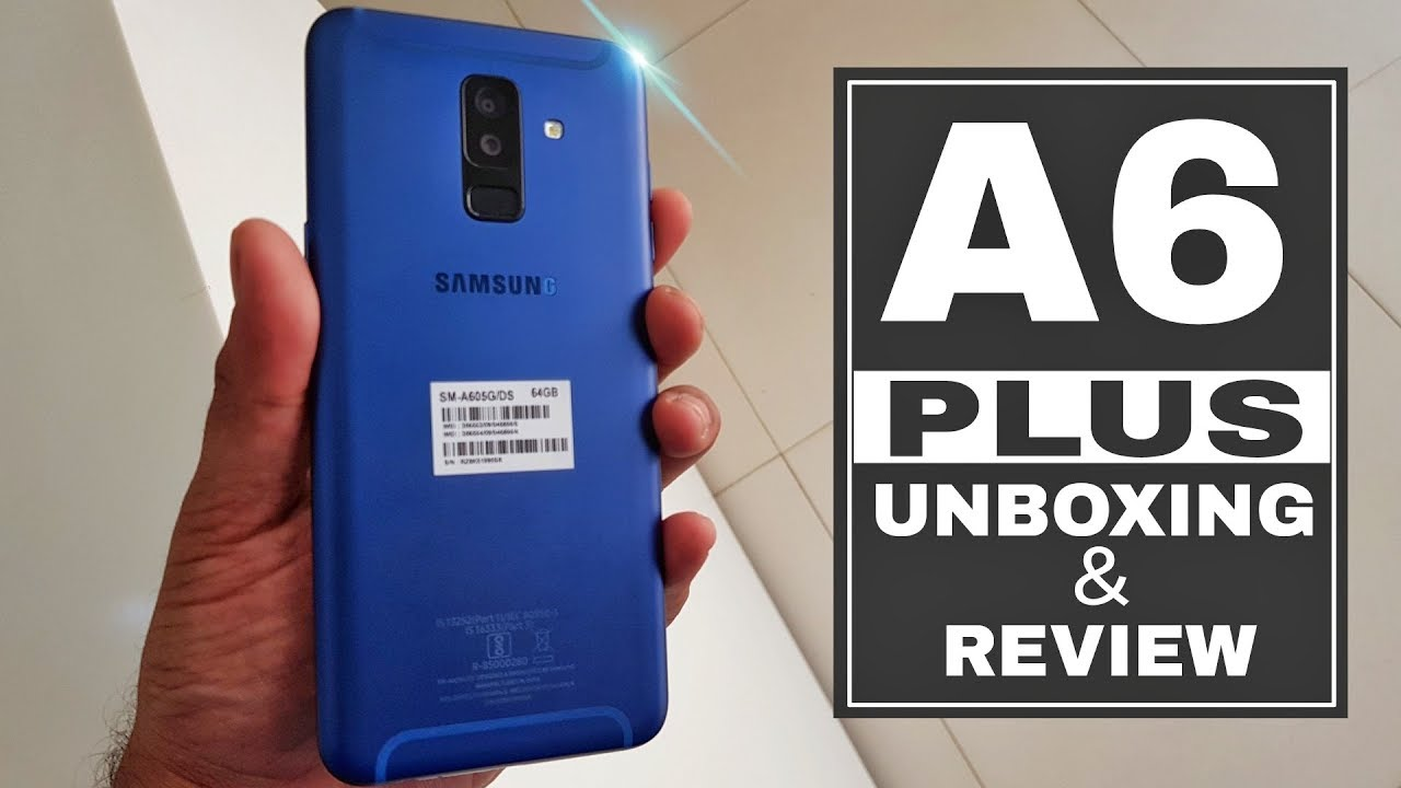 Samsung Galaxy A6 Plus A6 Unboxing Quick Review In Hindi Youtube