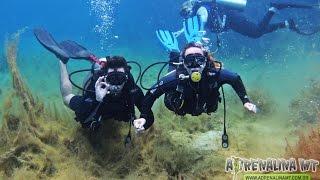 Mergulho com Cilindro - Lagoa Azul - Primavera do Leste - Mato Grosso