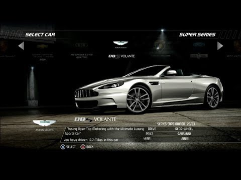 Need For Speed Hot Pursuit: Aston Martin DBS Volante (Test Drive)