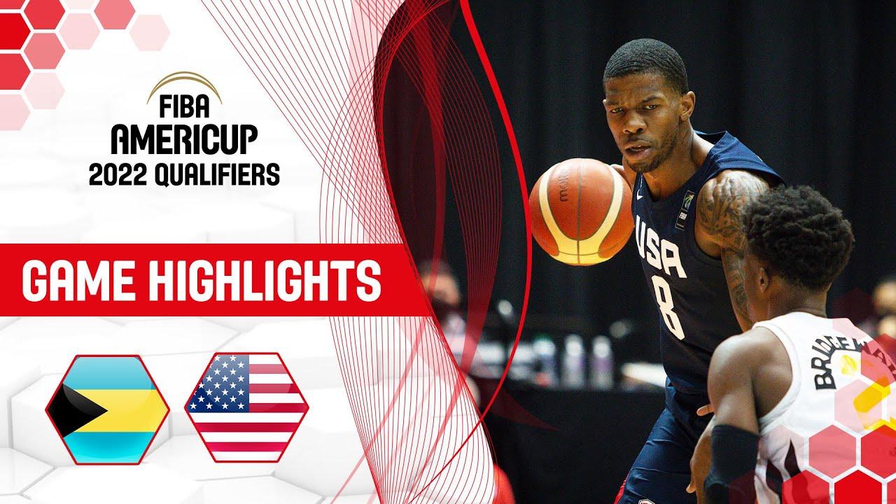 Bahamas - USA | Highlights - FIBA AmeriCup 2022 Qualifiers