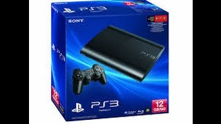 Sony PlayStation 3 Super Slim 250GB PS3 Console System SAVE 7% - black friday 2016 deals