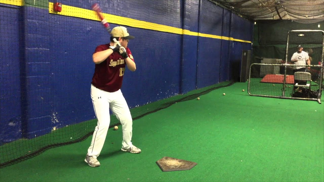 Anthony Riggi RHP/1B Garden City HS, NY 2017 College Baseball Recruiting  Video