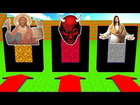 Do Not Choose The Wrong Portal (God, Satan, Jesus)