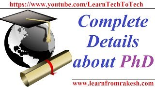Complete Detail about PhD(Doctor of Philosophy)