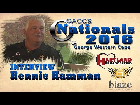 QACCS Nationals 2016: Interviews Hennie Hamman
