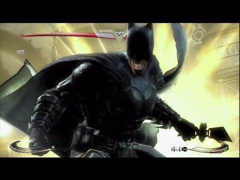 Injustice: Gods Among Us - Batman (Insurgency) Versus Superman's Regime (HD)