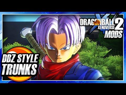 Dragon Ball Xenoverse 2 PC: DB Super Purple-Hair Future Trunks (DBZ Color Style) Mod Gameplay
