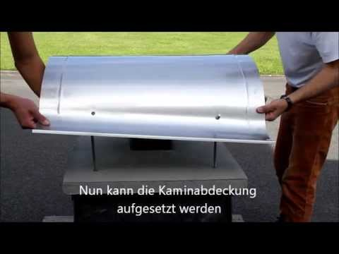 Montageanleitung Kaminabdeckung Kaminhaube Youtube