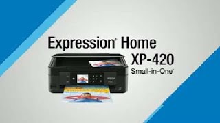 Watch an overview of the many amazing features of Epson's Expression Home XP-420 All-in-One Printer