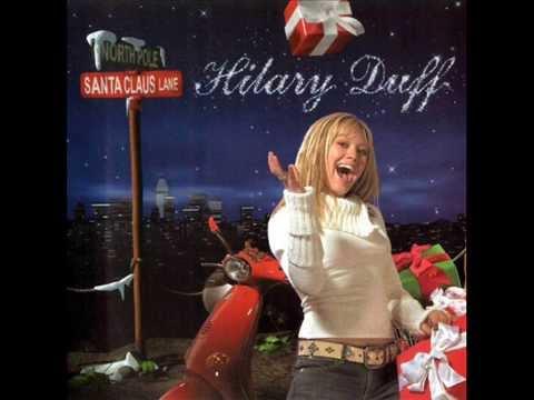 Hilary Duff Santa Claus Lane