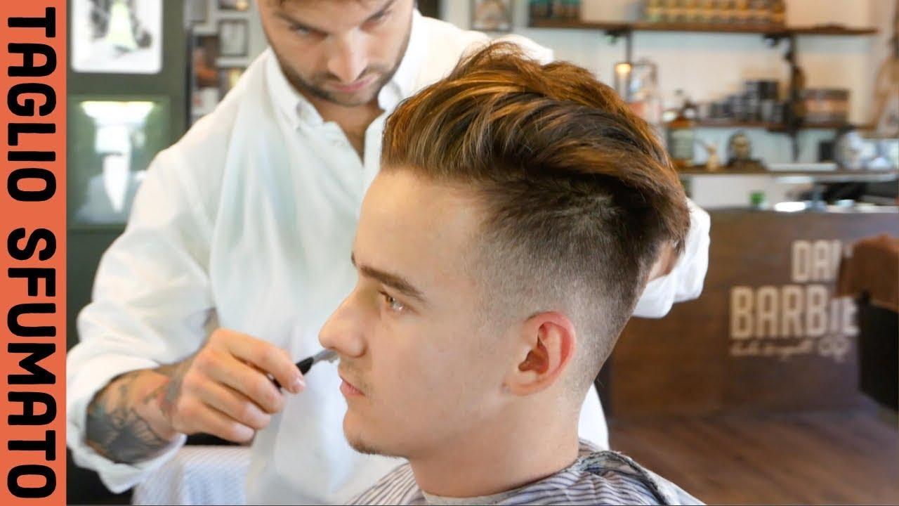 TAGLIO SFUMATO UOMO - Cosa chiedere al parrucchiere? - YouTube