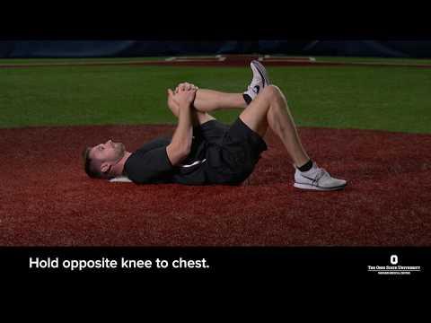Single leg bridge exercise | Ohio State Medical Center