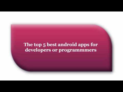 Top 5 best apps for developers or programmers