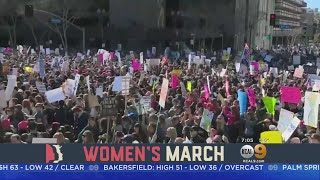 Big Crowds Expected Downtown For Women's March