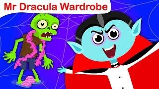 Halloween Dress Up Party | Dracula Halloween Songs | Nursery Rhymes by Little Angel