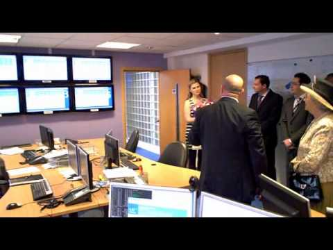 Queen opens new CJC offices in City of London