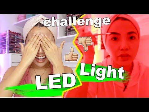 LED LIGHT Make Up CHALLENGE  (Ung RESULT Di Mo Kakayanin!!)
