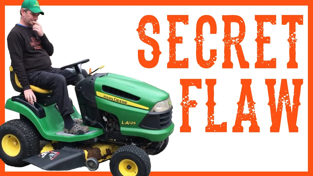 Your Riding Lawn Mower Tractor's Dirty Little Secret – Video