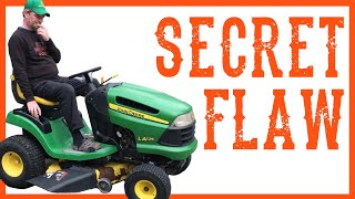 Your Riding Lawn Mower Tractor's Dirty Little Secret - Video