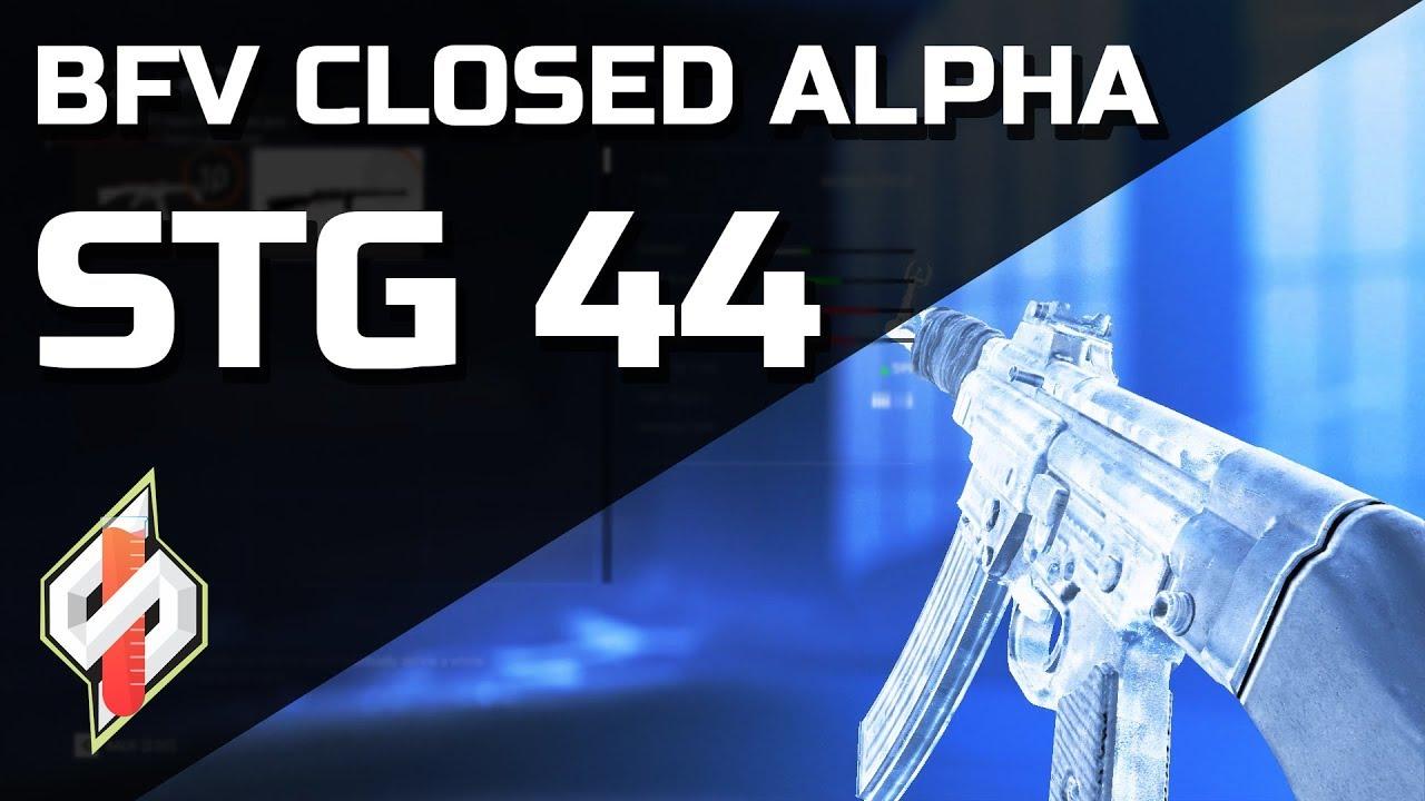 Battlefield V Closed Alpha - StG44 Gameplay [53-5]