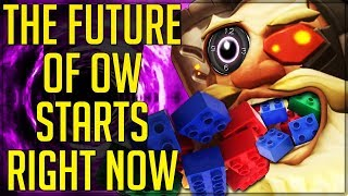 CUSTOM GAME MODE EDITOR, TRANSCENDING GENRES - IT STARTS NOW - Overwatch! (Hype Future Projection)