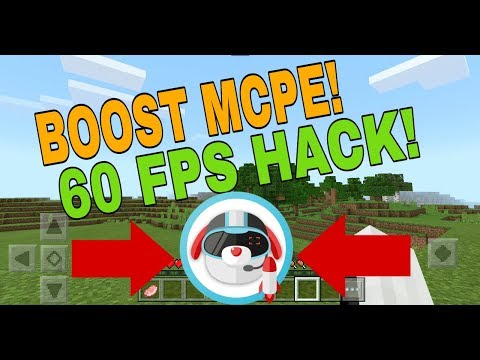This One App can BOOST Your MCPE FPS!! // Dr.Booster