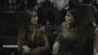 Antonella Roccuzzo and Daniella Semaan attend the 'Rosa Clara Fashion    Stock Footage Video   Getty