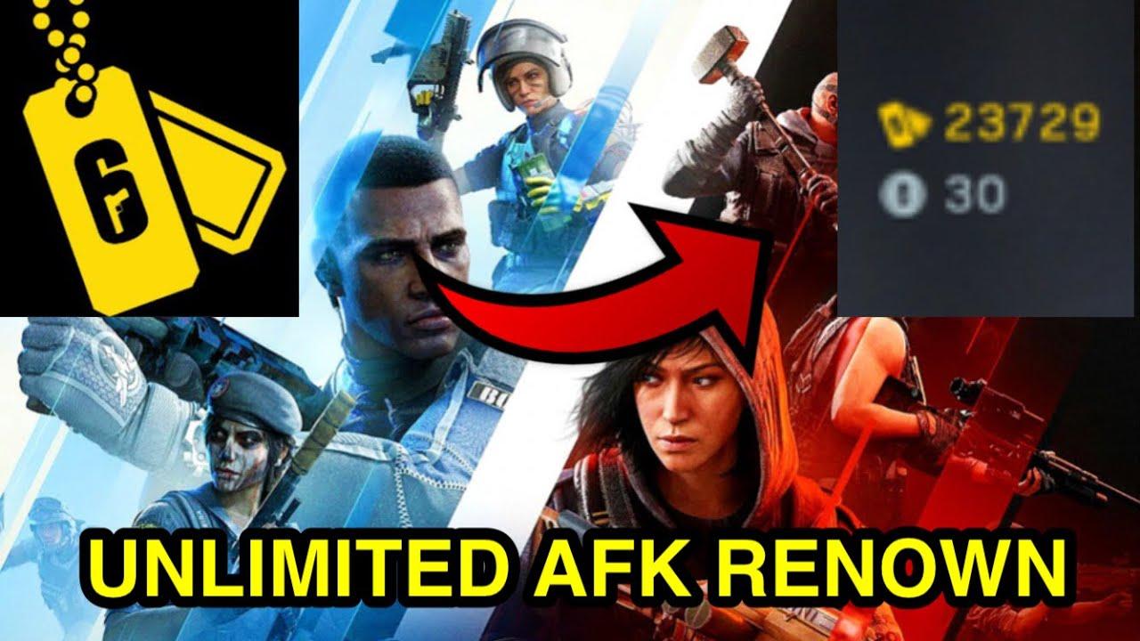 Rainbow six siege- Unlimited renown Glitch - Earn Renown