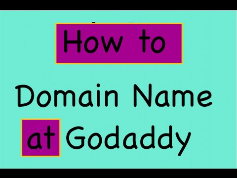 How to buy domain name at Godaddy.com ( English ) - YouTube
