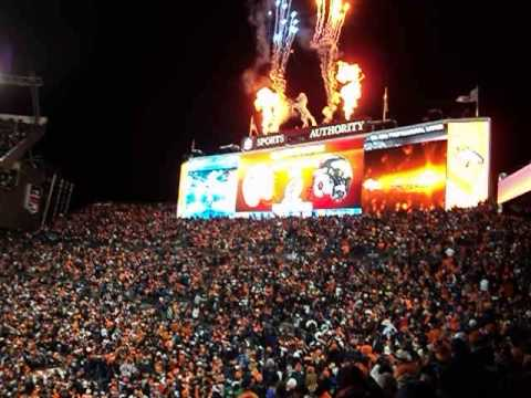 Denver Broncos 2013 Season Divisional Game Victory Celebration
