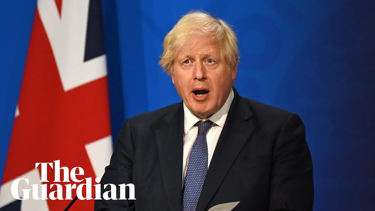 Download Coronavirus: Boris Johnson holds press conference as England lifts restrictions – watch live