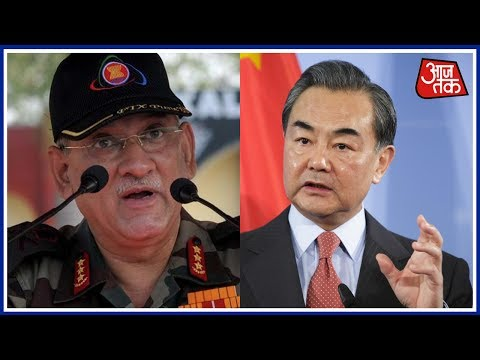 Chines Foreign Minister Ask India To Remove Forces From Sikkim Border