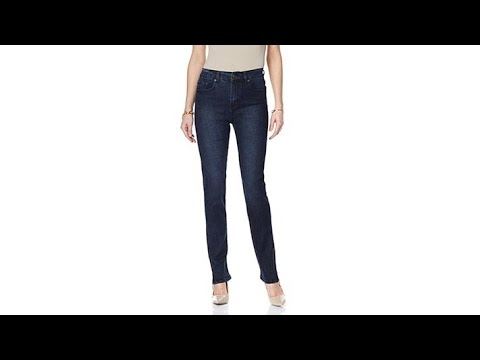 DG2 by Diane Gilman Stretch Denim Ankle Zip Skinny Jean