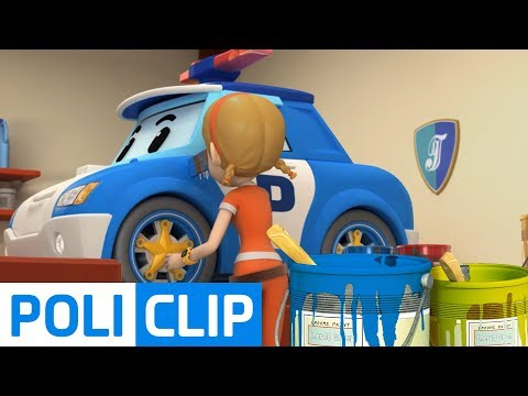 Rescue team Coloring play | Robocar Poli Rescue Clips