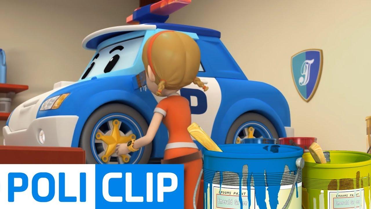 Download Rescue team Coloring play | Robocar Poli Rescue Clips