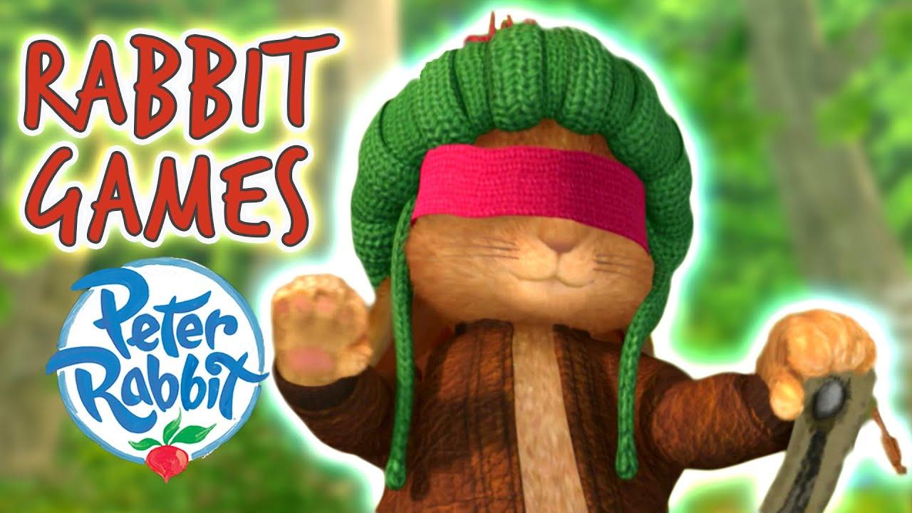 #Summer ☀️ Peter Rabbit - The Rabbit Games | Cartoons for Kids