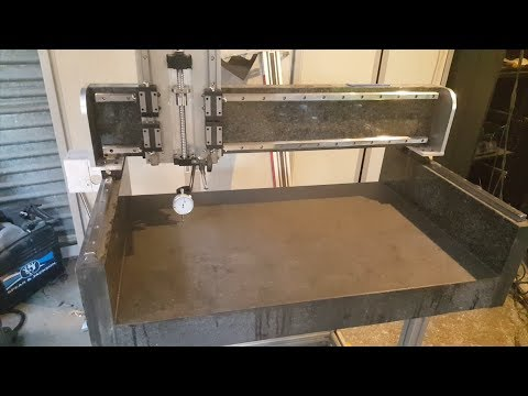 CNC machine made out of granite - part4