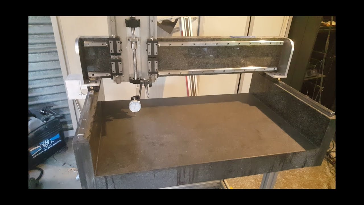 Cnc Machine Made Out Of Granite Part4