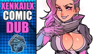 GREMLIN D.VA IN LOVE WITH SOMBRA AND MERCY PLAY DRESS UP - Overwatch | XenkailX Comic Dub EP 18