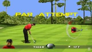 Tiger Woods 99 PGA Tour Golf PS1 Gameplay HD