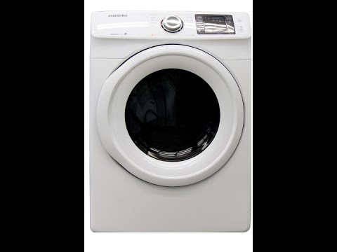 Samsung DV42H5000EW Dryer Review