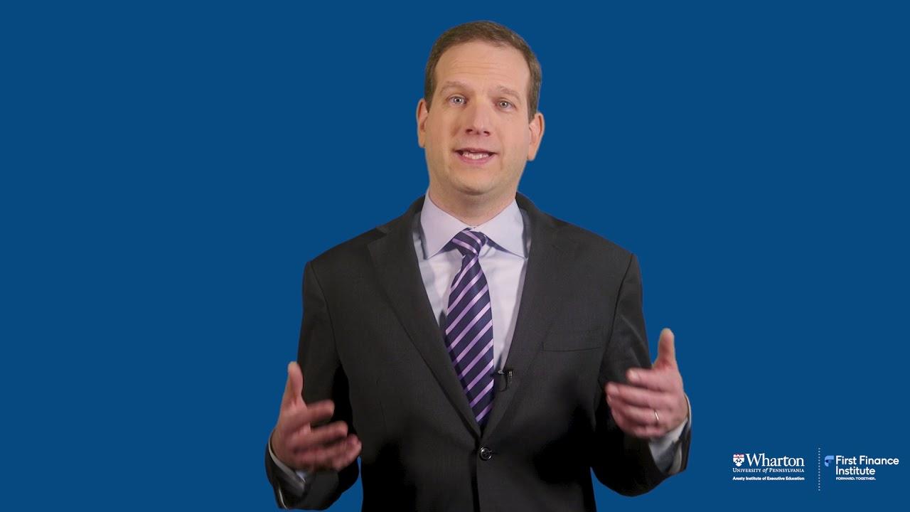 Asset Management Wharton Online First Finance Institute