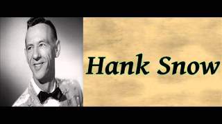 Watch Hank Snow The Blue Velvet Band video