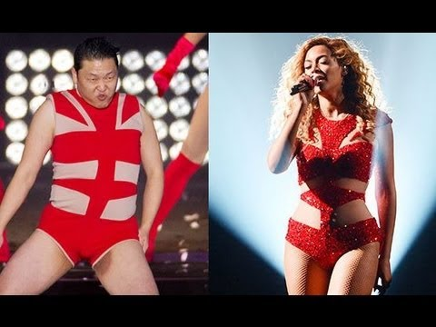"PSY DOES BEYONCE ""SINGLE LADIES"" DANCE! Mp3"