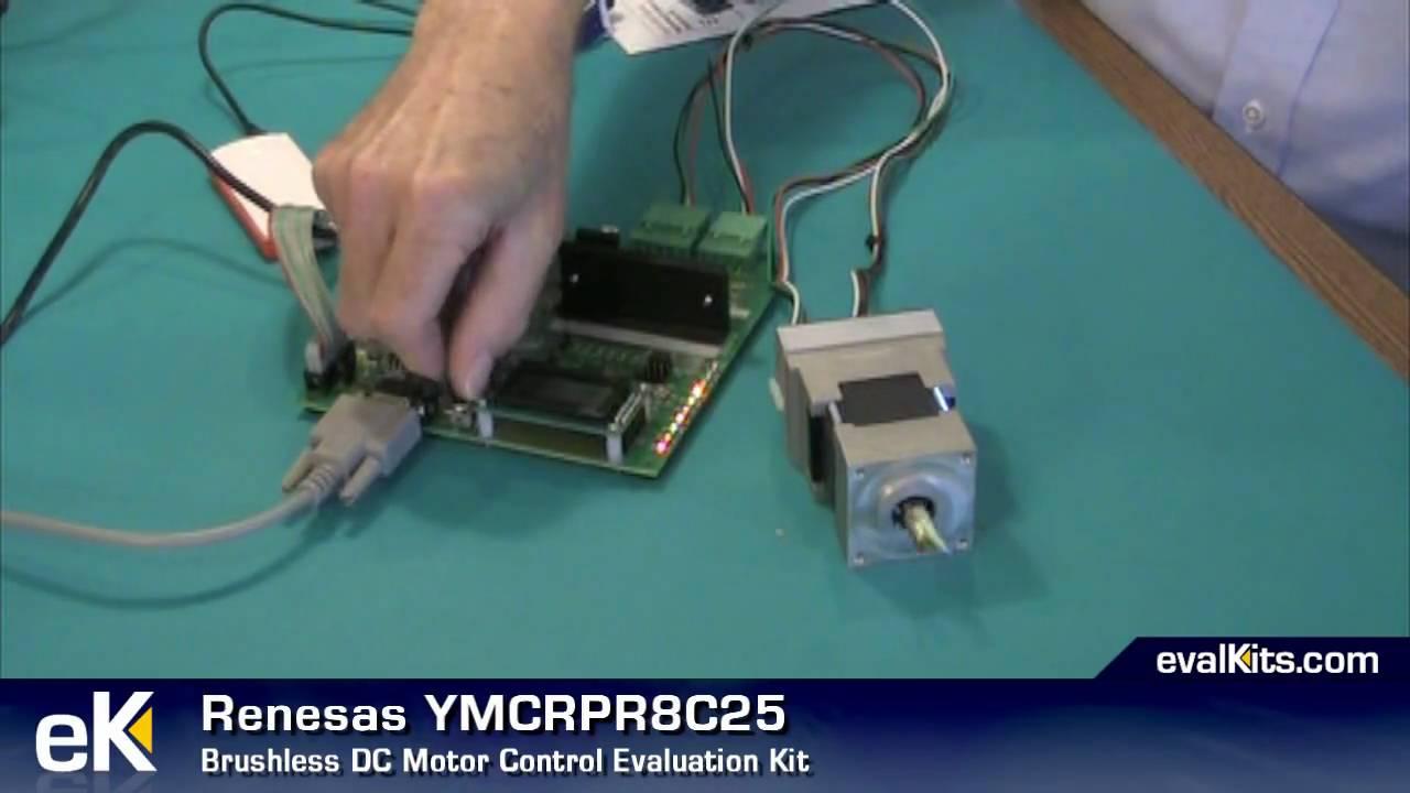 Renesas brushless dc motor control evaluation kit for Etek r brushed dc electric motor