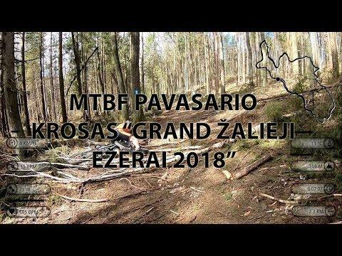 """MTBF Pavarasio krosas """"Grand Žalieji ežerai 2018"""""""