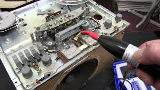 How to Degauss and how to DC erase tapes. Reel to Reel.