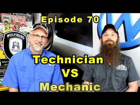 Being a Technician vs Being a Mechanic ~ Podcast Episode 70