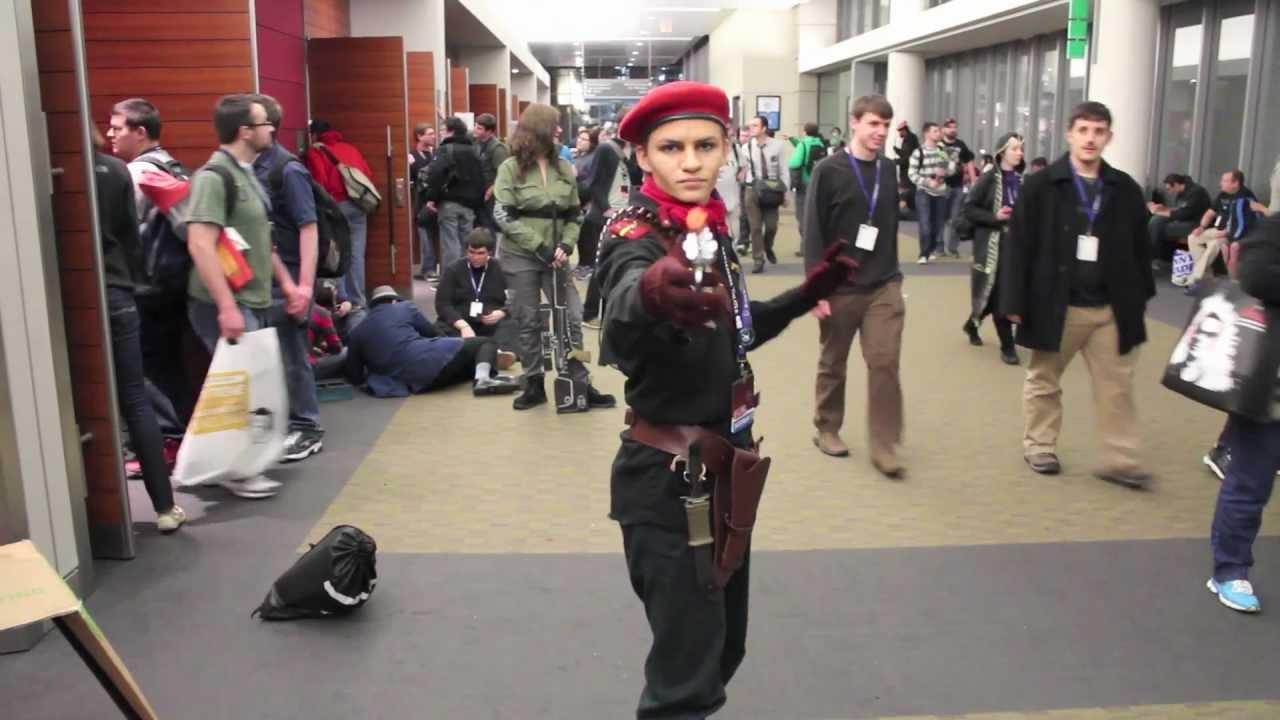Revolver ocelot cosplay - photo#8