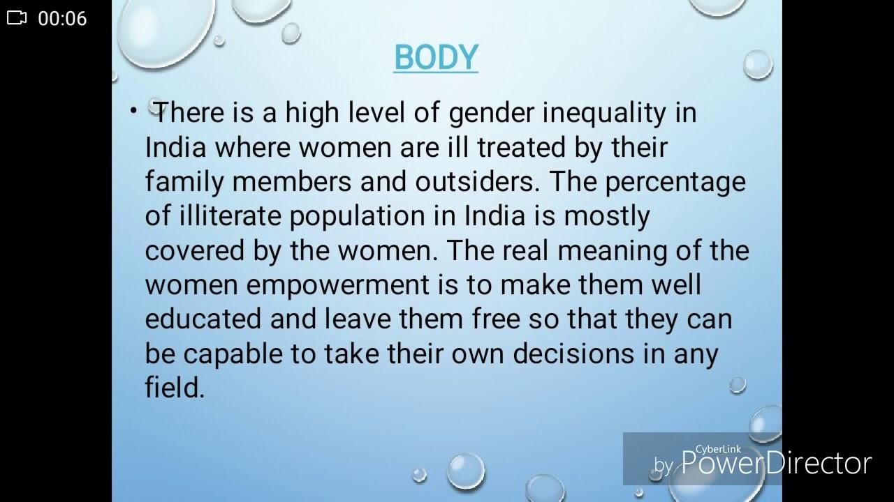 Essays on women